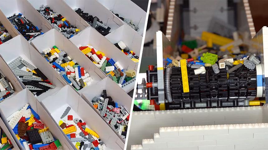 Clasificador automático de piezas de LEGO con Inteligencia Artificial