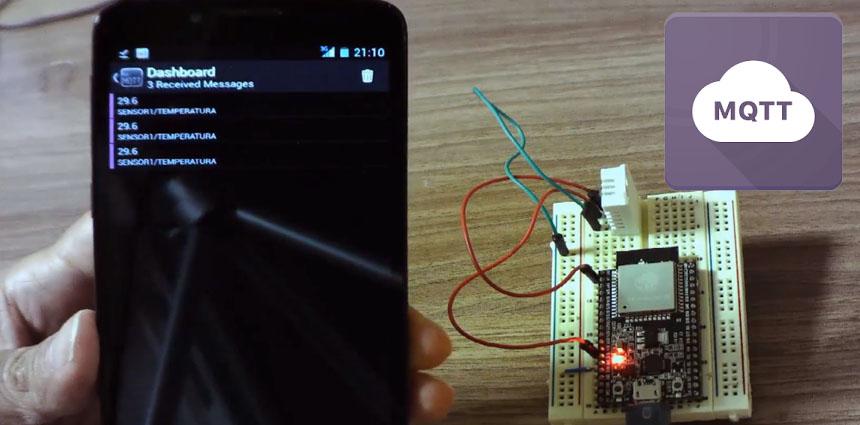Cómo enviar los valores de un sensor por MQTT con ESP32