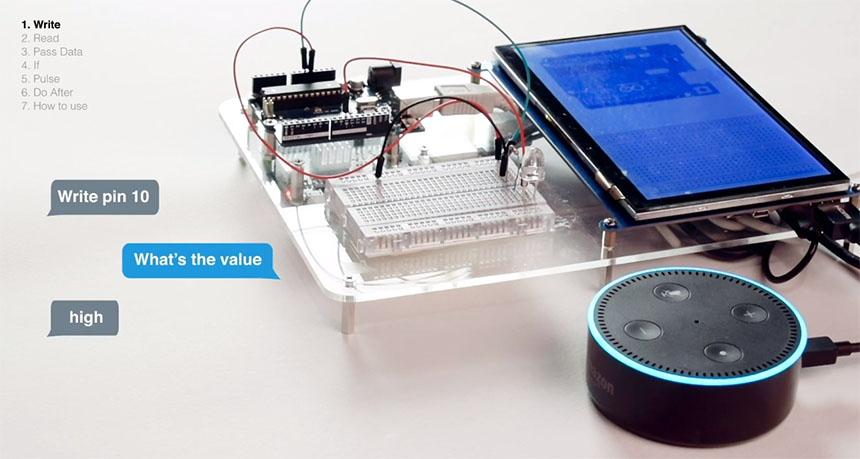 Cómo programar Arduino con comandos de voz usando Amazon Alexa Echo