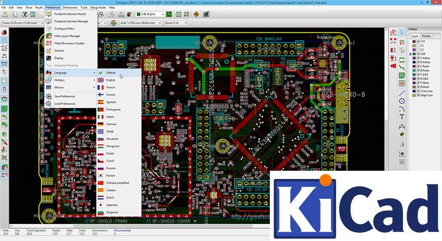 Tutorial de diseño de PCB con KiCad en Español