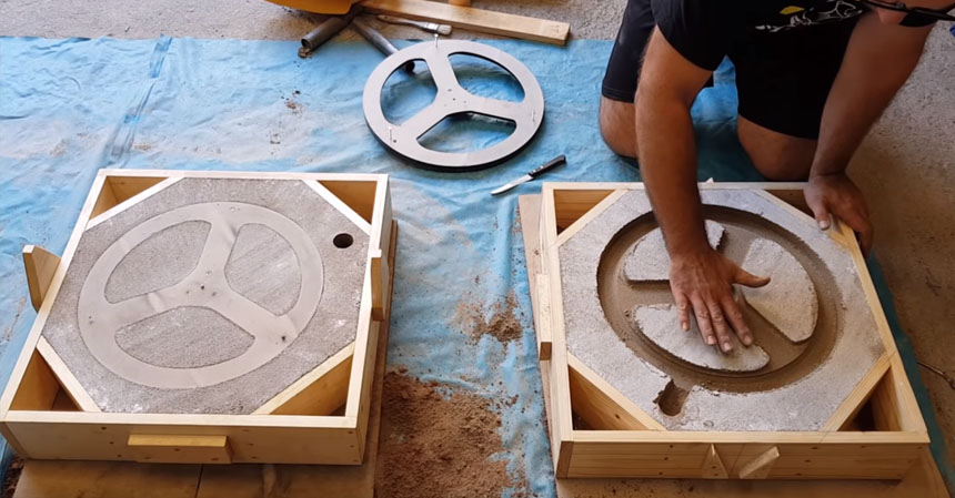 Fundición en molde de arena para crear piezas de metal