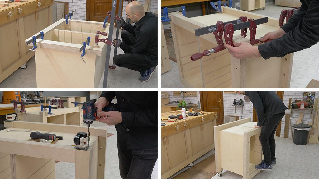 Cómo hacer un Banco Carpintero Modular con Portaherramientas