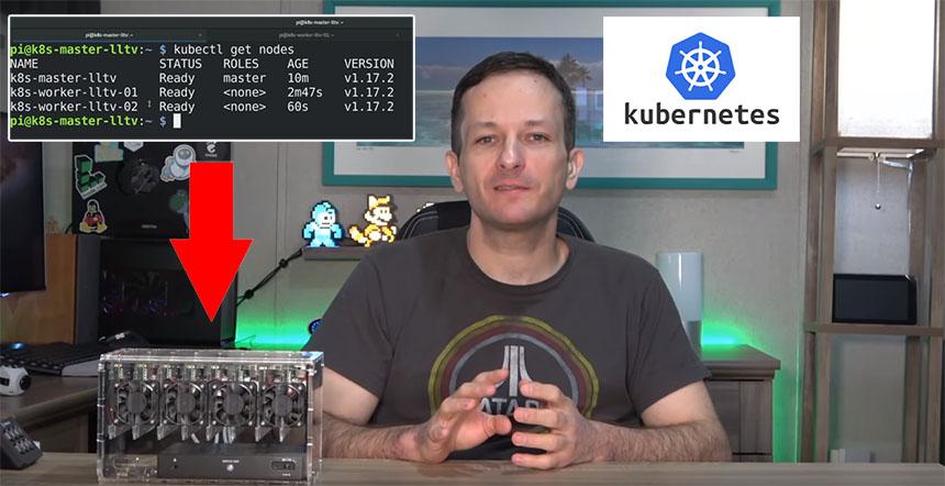 Cómo hacer un Cluster Kubernetes con Raspberry Pi