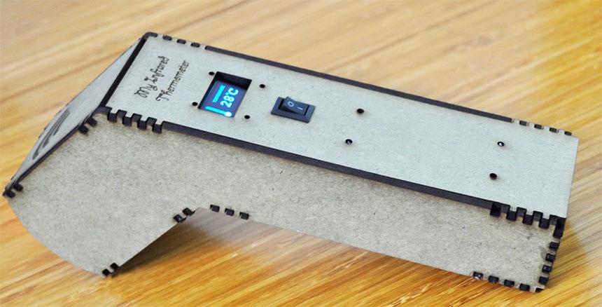 Cómo hacer un termómetro infrarrojo con Arduino