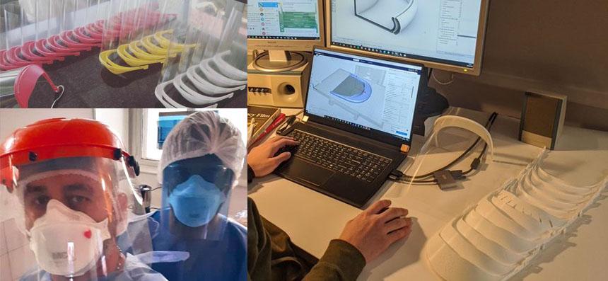 La comunidad Maker une fuerzas contra la pandemia con máscaras impresas en 3D y fabricando respiradores