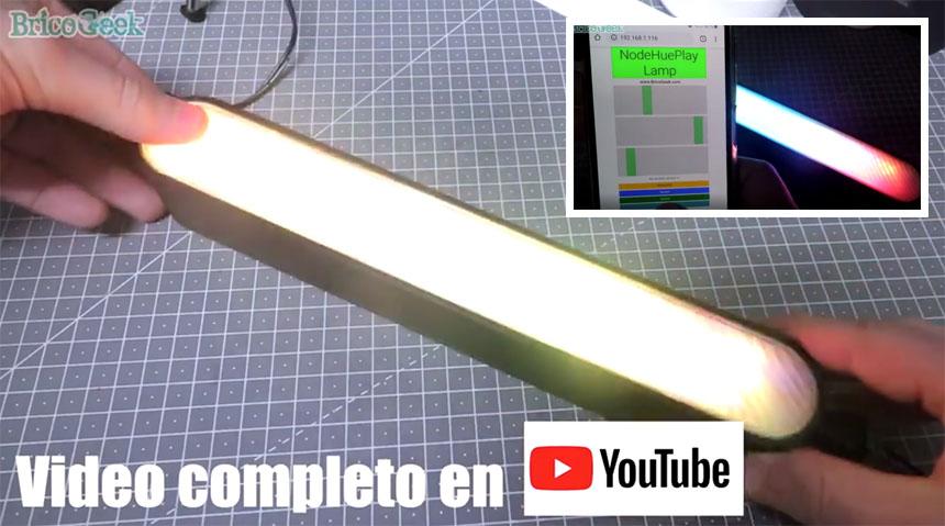 Cómo construir una lámpara DIY Philips Hue Play con ESP8266 NodeMCU
