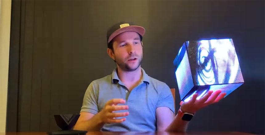 Como construir un cubo de LED RGB interactivo