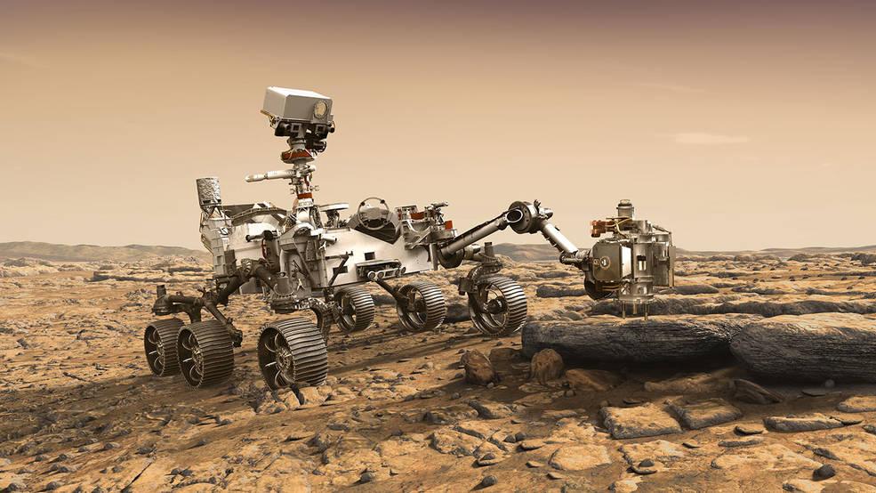 Conoce el nuevo robot Mars 2020 Perseverance Rover de la NASA