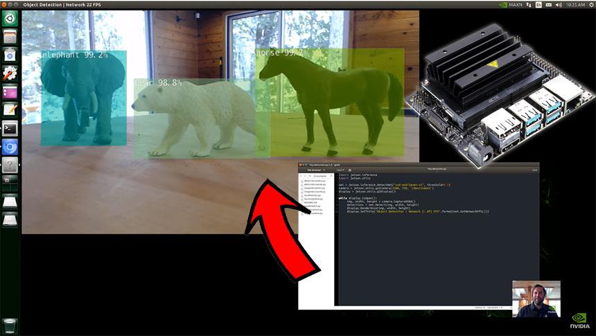 Cómo reconocer objetos con 10 líneas de Python y Jetson Nano