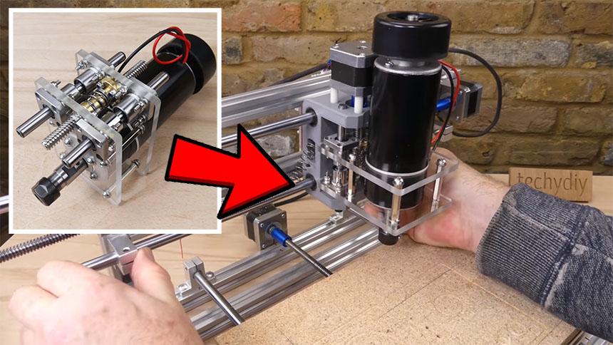 Cómo mejorar el eje Z de una fresadora CNC 3018