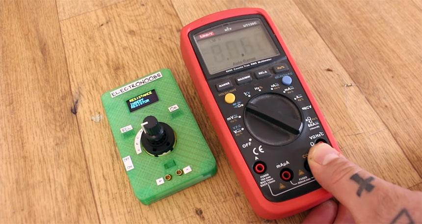 Cómo hacer un multímetro digital casero con Arduino