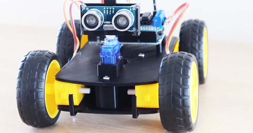 Cómo construir un sencillo robot que evita obstáculos con Arduino