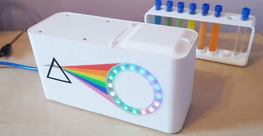 Cómo hacer un espectrómetro casero con Arduino