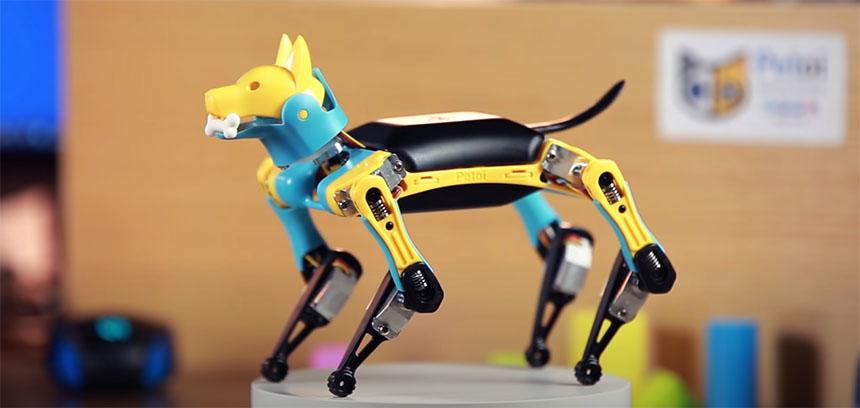 Petoi es un perro robot que puedes programar y modificar