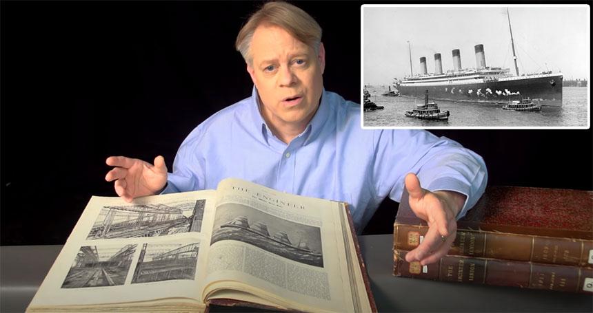 Ésta es toda la ingeniería detrás de la construcción del Titanic