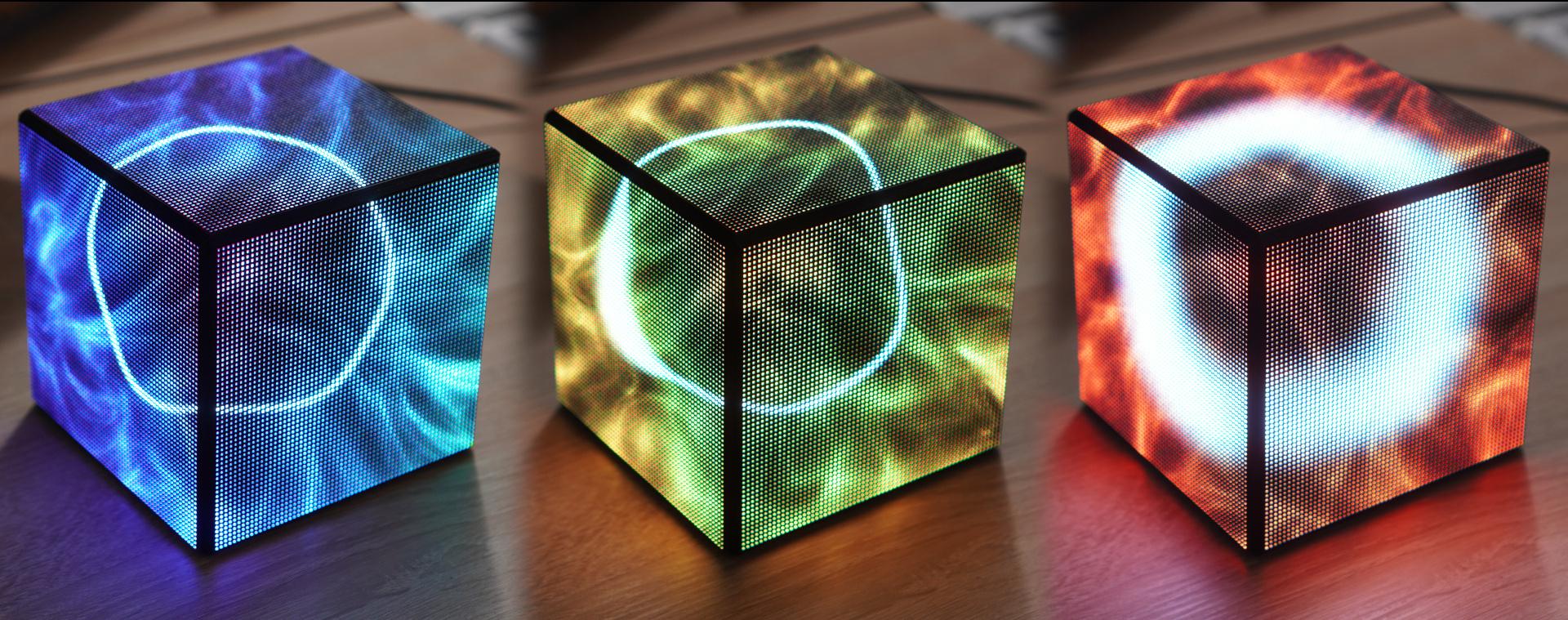 Cubo RGB LED para ver el uso de tu CPU con Raspberry Pi