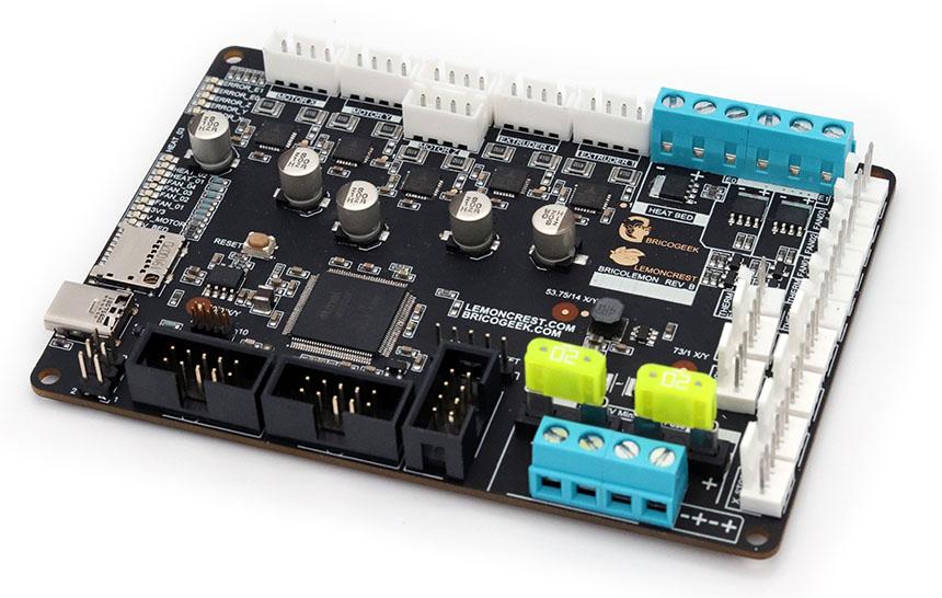 BricoLemon: Electrónica de 32-bits para tu impresora 3D fabricada en España
