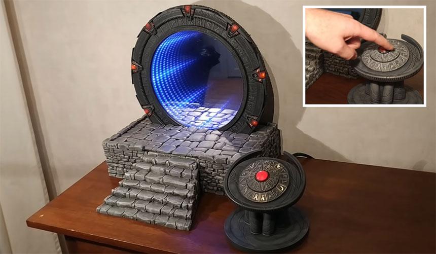 Puerta de Stargate que funciona con Raspberry Pi
