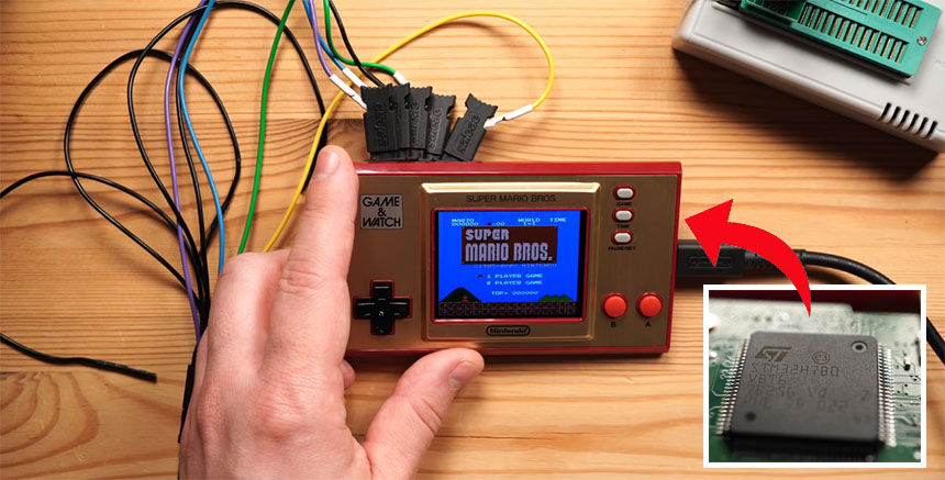 Hackeando la Nintendo Game and Watch