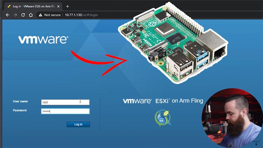 Cómo instalar VMWare paso a paso en Raspberry Pi