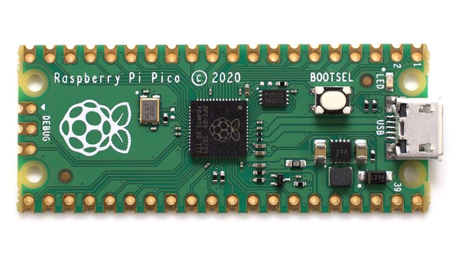 Raspberry Pi Pico con microcontrolador propio ARM Cortex M0