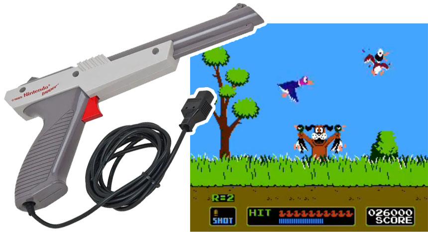 ¿Cómo funciona la pistola de Duck Hunt de Nintendo?