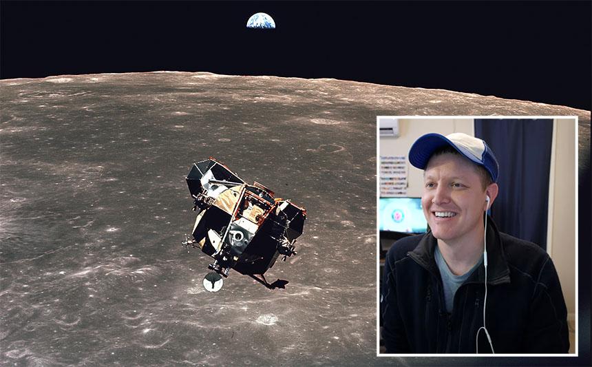 Cómo aterrizar en la Luna contado por Dustin de Smarter Every Day