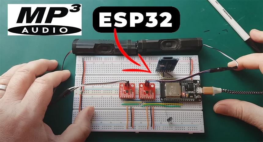 Cómo hacer un reproductor MP3 con ESP32 y Arduino