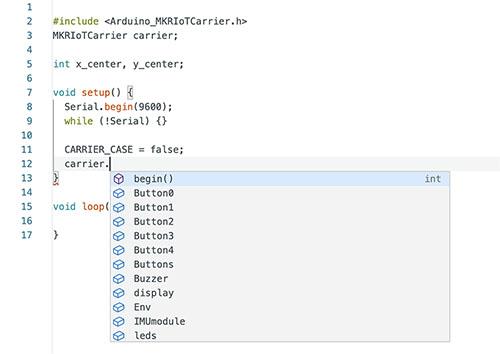 Arduino IDE Autocompletado