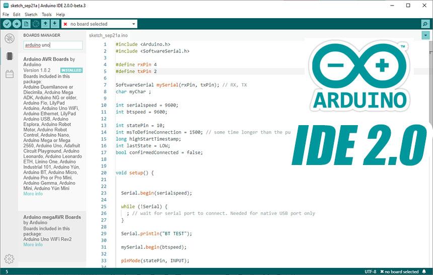 Ya está disponible el nuevo Arduino IDE 2.0 (beta) y pinta espectacular