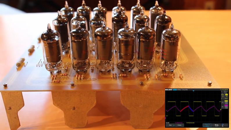 Creando el clásico temporizador 555 con válvulas