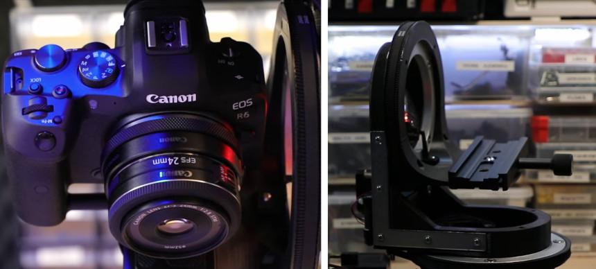 Slider motorizado casero de 3 ejes para cámaras reflex con Raspberry Pi