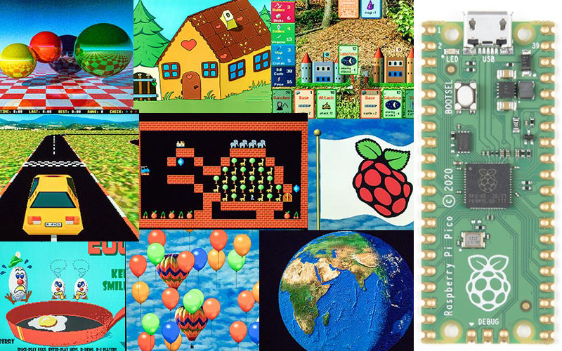 Libería VGA para Raspberry Pi PICO