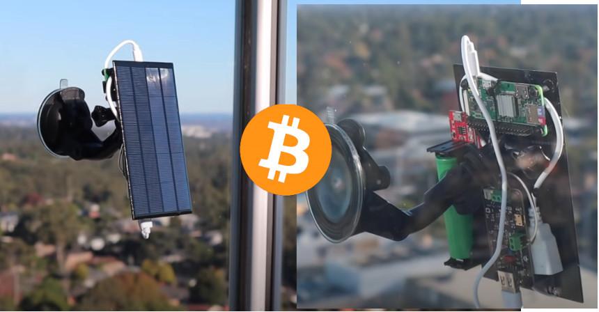 Crypto Miner con Raspberry Pi alimentado con energía solar