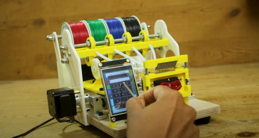 Máquina cortadora de hilo automática con Arduino