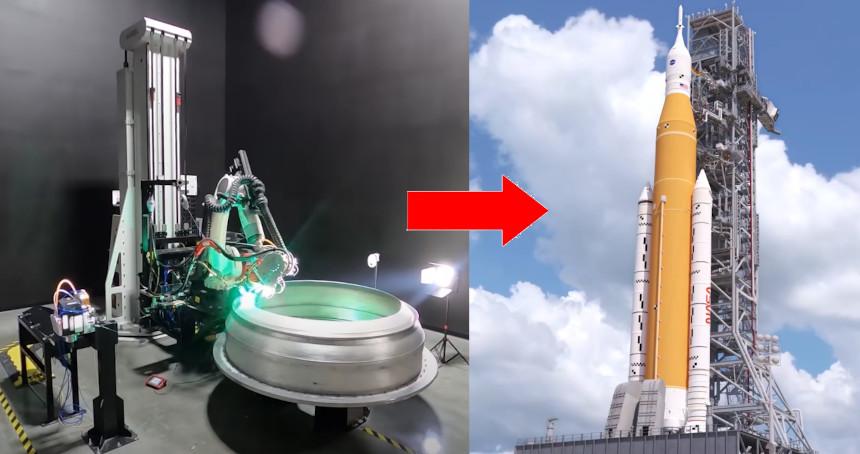 Éste es el cohete impreso en 3D en una sola pieza que irá al espacio