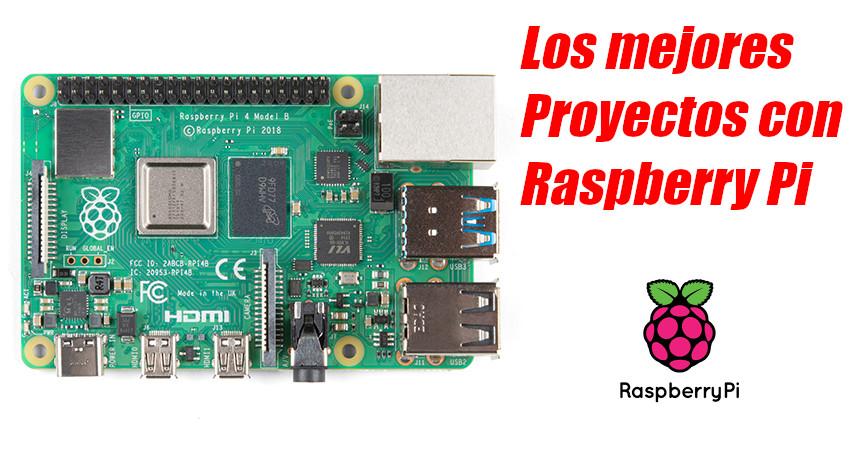 Los TOP 10 proyectos que puedes crear con Raspberry Pi