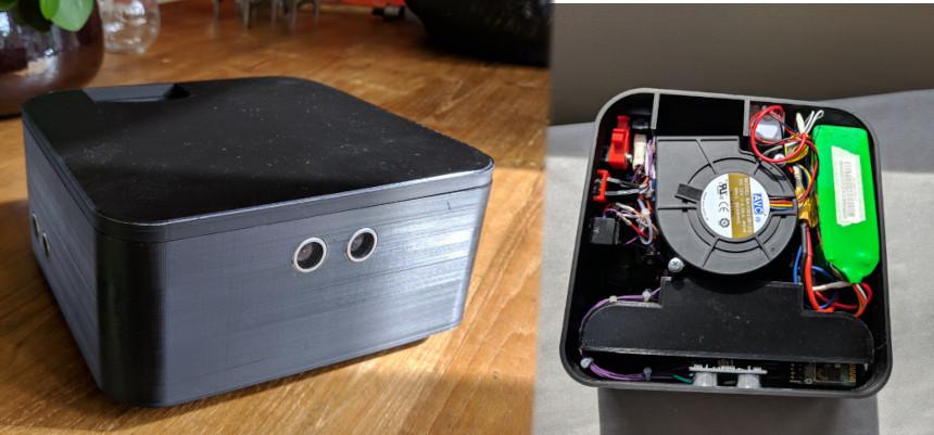 Construir un robot aspirador casero impreso en 3D y controlado con Arduino