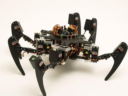 (Video) Hexapod Phoenix: El robot araña