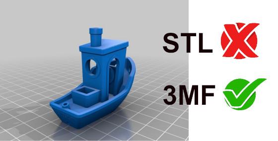 Porqué deberías dejar de utilizar ficheros STL y pasarte a 3MF