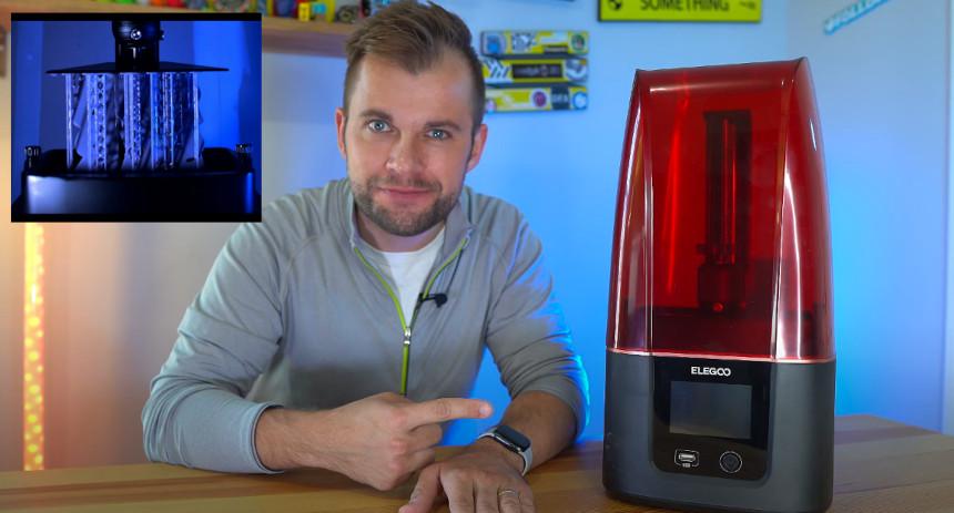 Timelapse para impresoras 3D de resina con Machine Learning