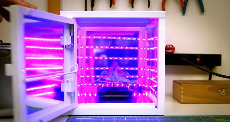 Cómo construir una estación de curado de resina con un mueble de IKEA