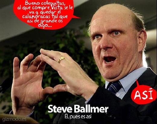 Windows Vista segun Steve Ballmer