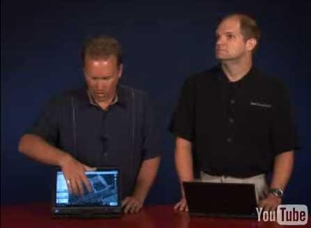 (Video) DELL ofrece multitouch para portatiles Latitude XT
