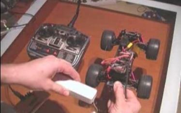 Controlar un coche RC con el mando de la Wii