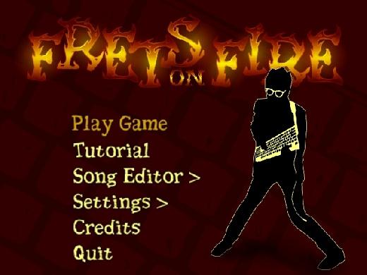 Toca la guitarra con Frets on Fire