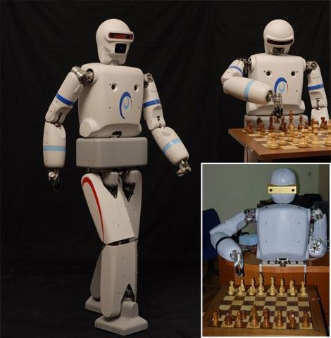 (Video) Robot bípedo REEM-A hace la competencia a ASIMO