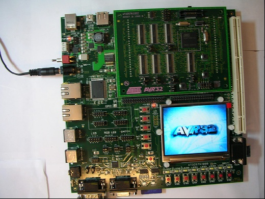 Atmel AVR32 - STK1000 Embedded Linux Start Kit