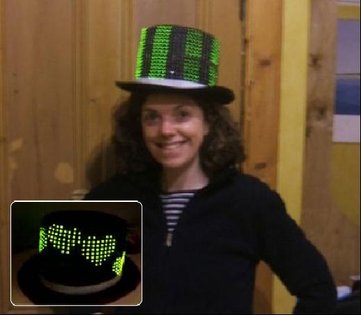 (Video) LedHat: El sombrero Geek con 400 LED\'s