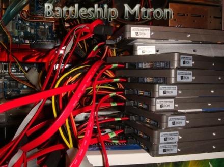 Disco duro SSD en RAID 0: Transfiere 1GB en 4 segundos